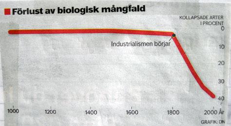 Förlust av biologisk mångfald